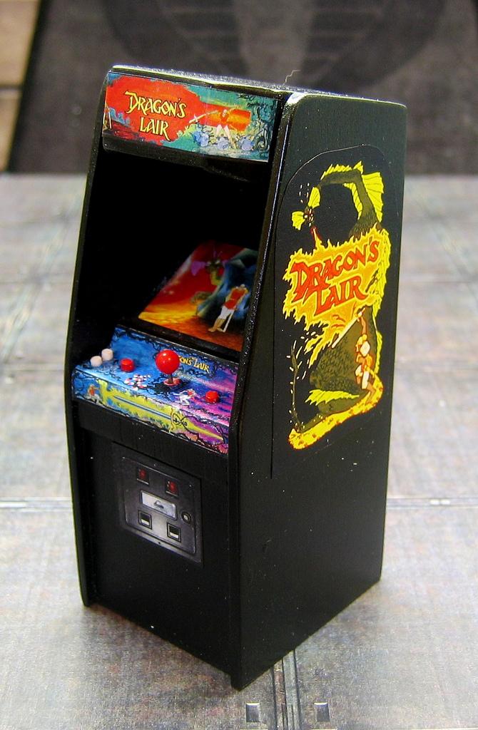 PACROID: Mini Arcade Machines