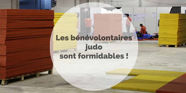 Bénévolontaires - Judo - Grand Slam Paris - Cestquoitonkim