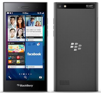 Harga BlackBerry Leap dan Spesifikasi