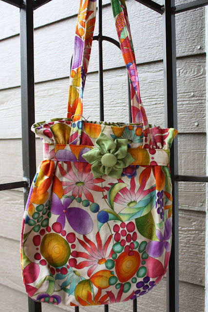 Bag w/ Flower Pin