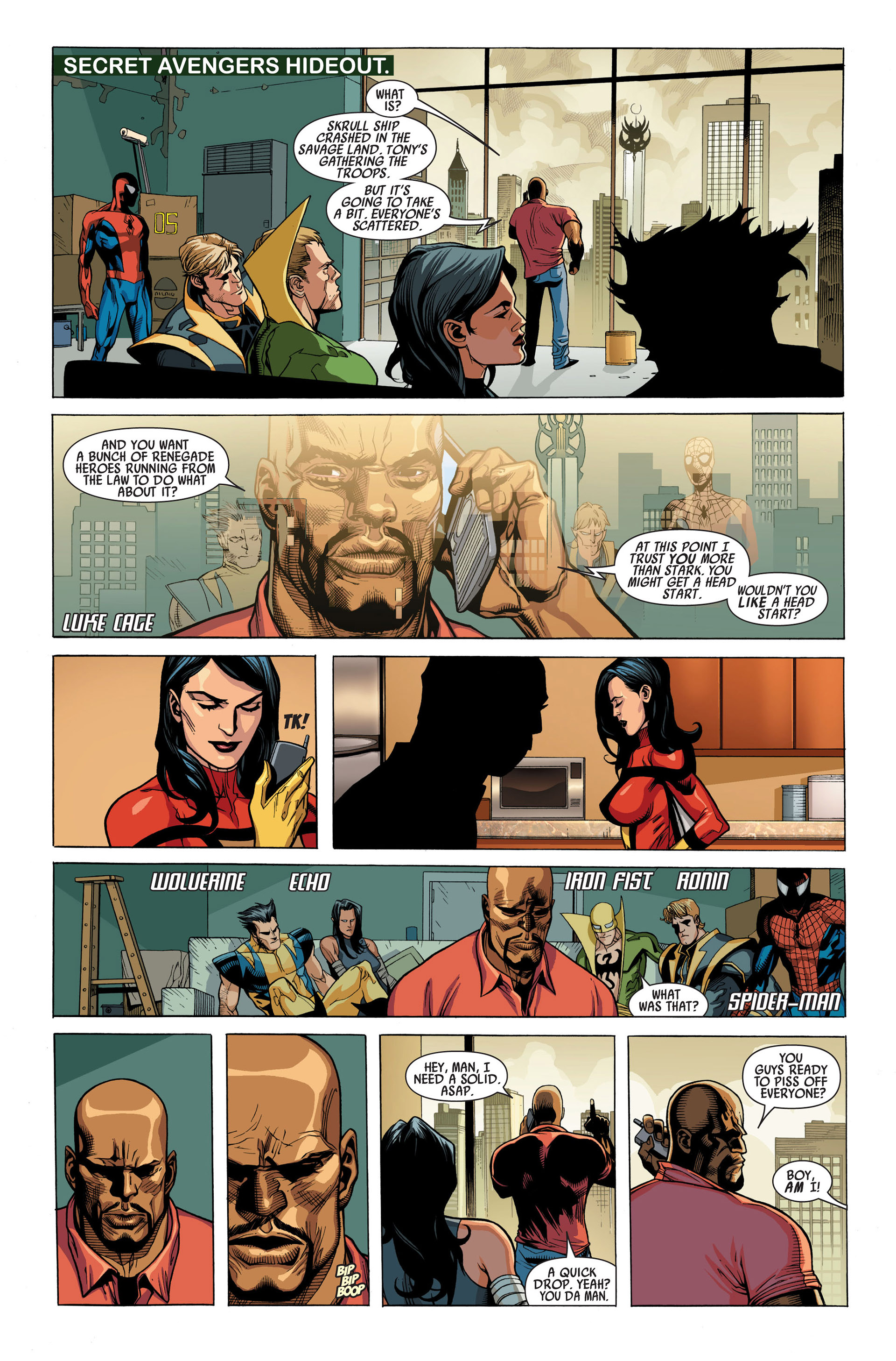 Read online Secret Invasion comic -  Issue #1 - 10