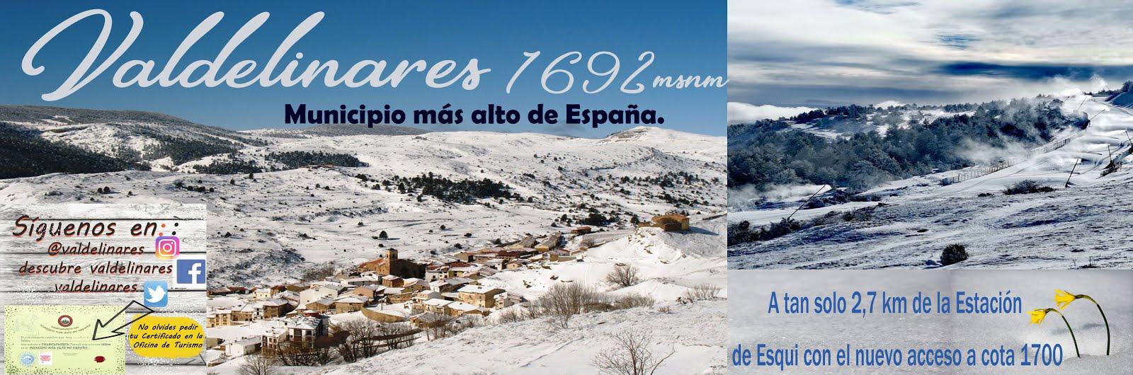 Valdelinares Municipio más alto de España