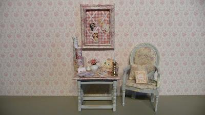 AJAPM,Toile de Jouy,Miniature