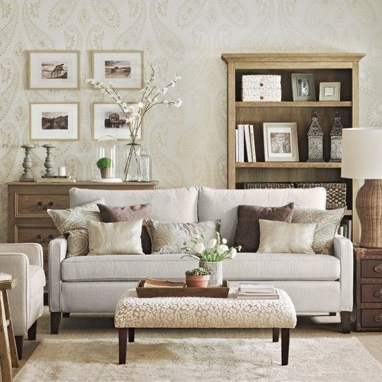 There are many different ways to incorporate paisley patterns into your  home  Here the walls are covered in fabric  Even though there is a  saturation of  Eye For Design  Decorating With Paisley. Paisley Couch Living Room Furniture. Home Design Ideas