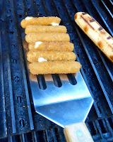 Grill frozen cheese sticks fast and easy on GrillGrates