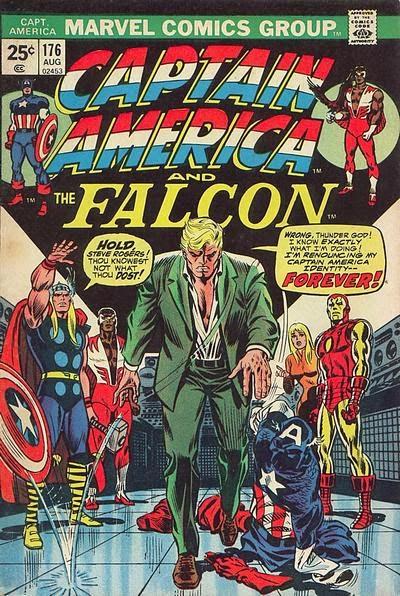 Captain America and the Falcon #176