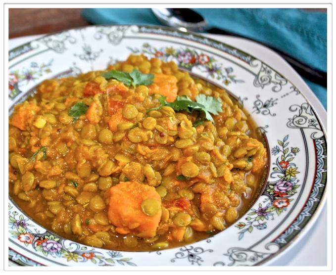 Helyn's Healthy Kitchen: Indian Lentil Sweet Potato Stew