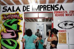FOTOS: - SALA DE IMPRENSA - FRENTE DE COMUNICAÇÃO