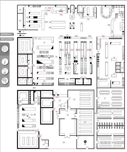 Cocinas industriales blog servinoxblog servinox plano for Plano de una cocina de un restaurante