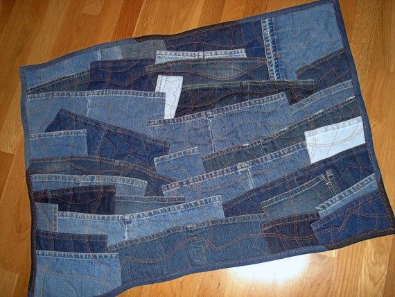 Коврики и джинсов своими руками