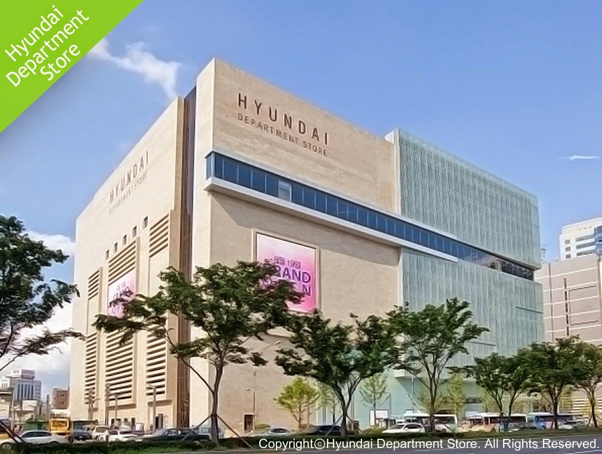 Shopping Areas in Daegu-Hyundai Department Store, Jung-gu