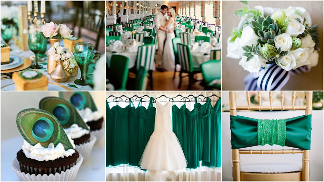 Mariage green wedding
