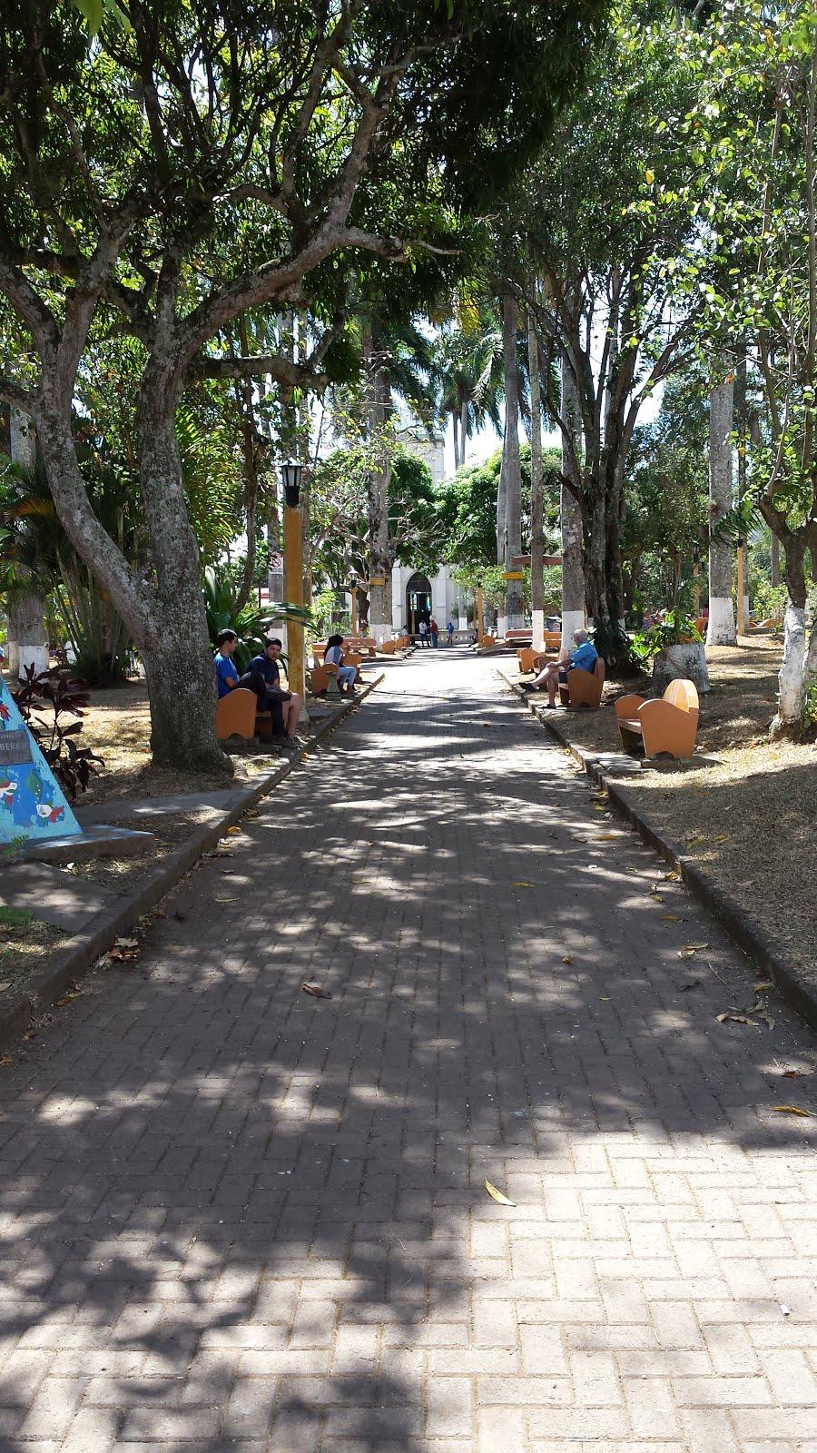 Parque Central Atenas