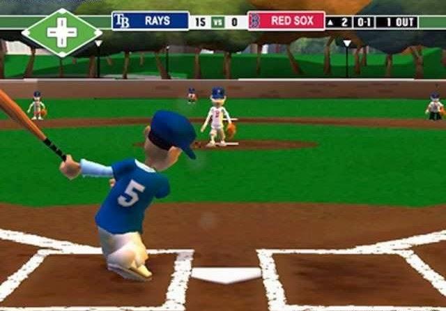 Marvelous Backyard Baseball 2003 Game