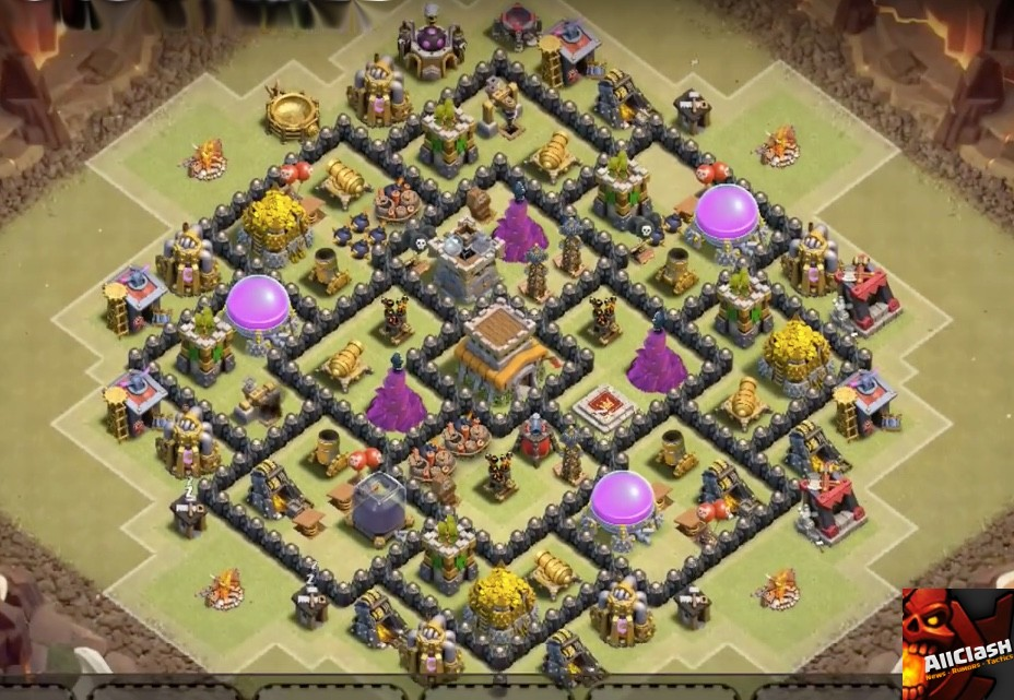 War base designs for town hall 8