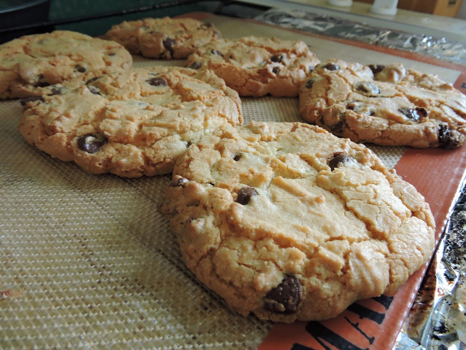 Cookies aux pépites de chocolat noir et aux noix de pécan