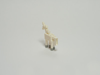 ナノブロックで作ったユニコーン