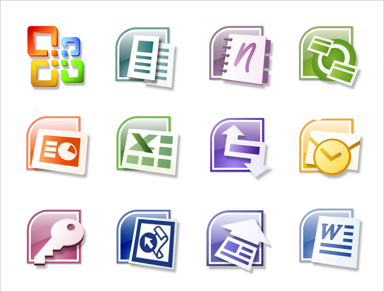 Office 2007 Windows 32 64 Bits Mega Nube Llena