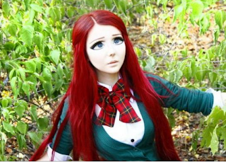 girl from ukraine looks like a real anime