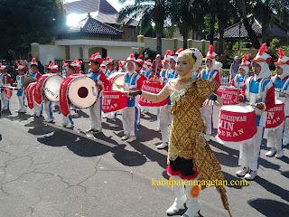 Upacara HAB Kemenag 2013 Magetan