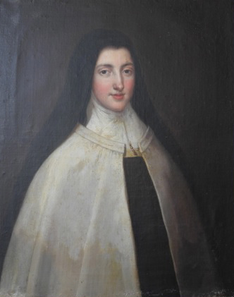 Early 18th Century French Portrait of a Nun via Chateau Domingue as seen on linenandlavender.net - http://www.linenandlavender.net/p/blog-page_9.html