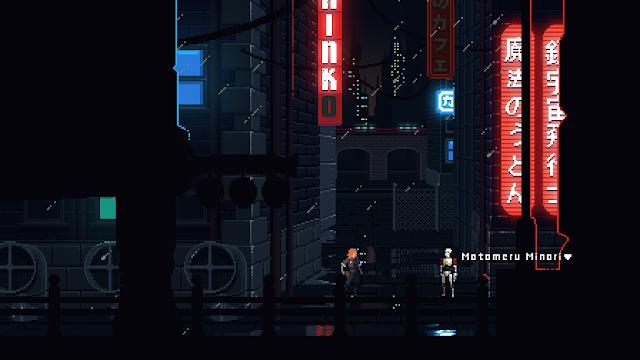 Aventura cyberpunk y pixelada en Murder