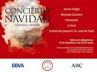 El 15 de diciembre de 2011 con Aurora Vargas, Manuela Carrasco, Pansequito y La Susi entre otros