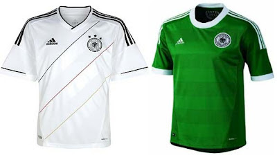 Jersey / Kostum tim Jerman di EURO 2012