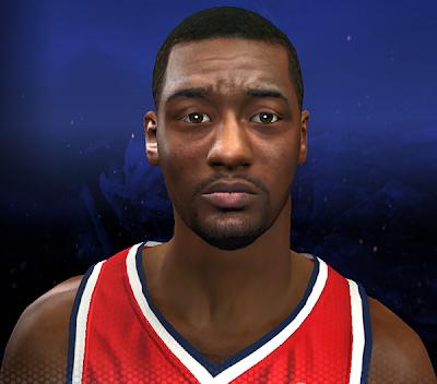 NBA 2K14 John Wall Cyberface Mod