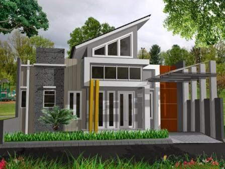 Model design rumah modern terbaru