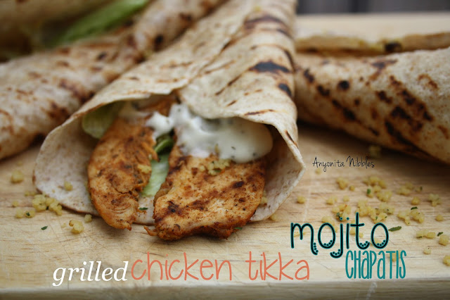 Grilled Chicken Tikka Mojito Chapti Wraps from www.anyonita-nibbles.com