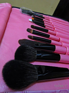 12 pcs. Suesh Make-up Brush