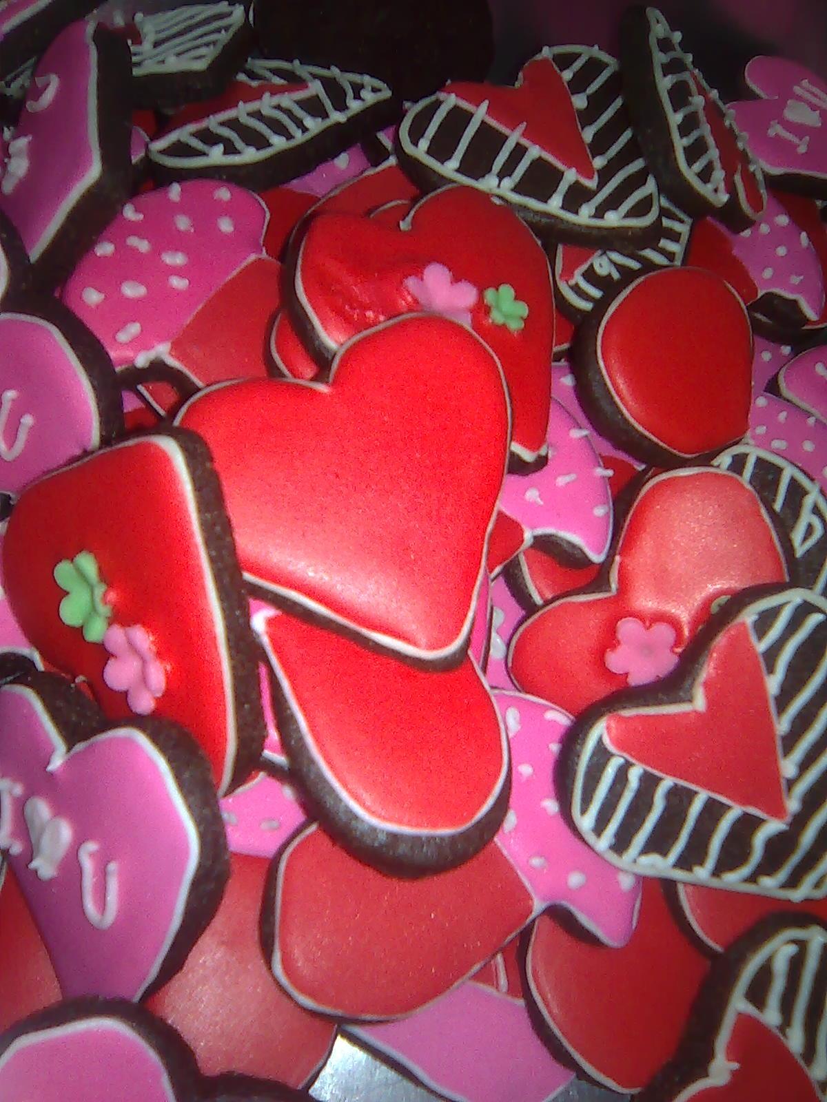 mustsweet,: chocolate fancy cookies/sugar cookies