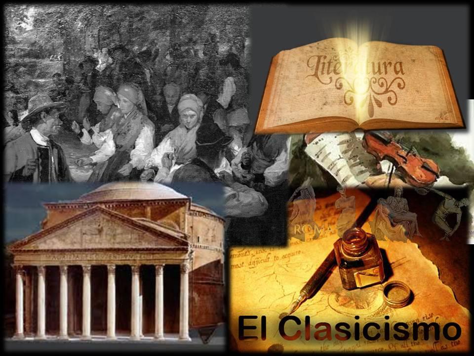 Evoluci n de las corrientes literarias cronolog a de - Epoca del clasicismo ...