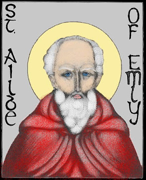 St. Ailbe, Patron Saint of Wolves