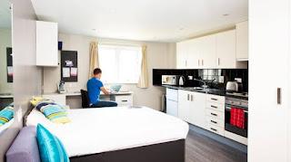 Residencia habitación, estudiar inglés barato en Liverpool