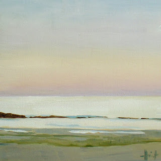 Early Evening Sea by Liza Hirst