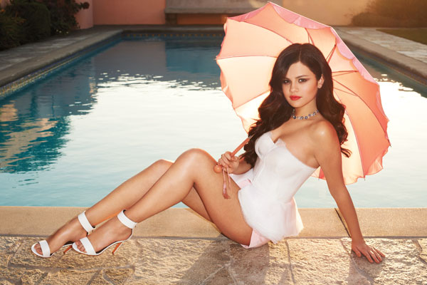 Selena Gomez looks chic as the Harper's Bazaar April 2013 cover girl