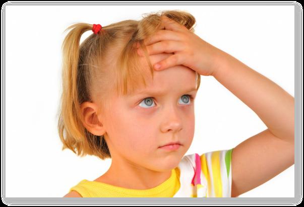 De ce il doare capul pe copil?