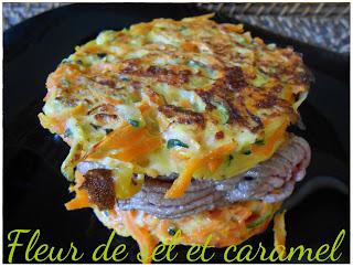 Galettes de légumes façon burger