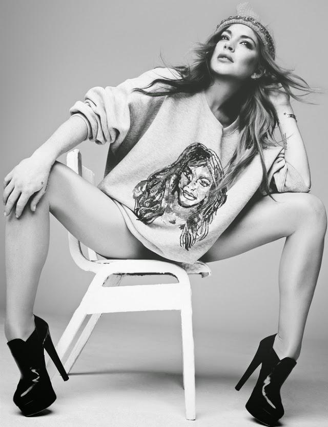 Fotos de Lindsay Lohan en Hunger Magazine