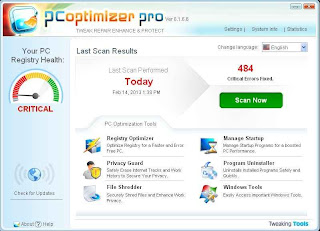 Download PC Optimizer 6.1.6.6 Full Version