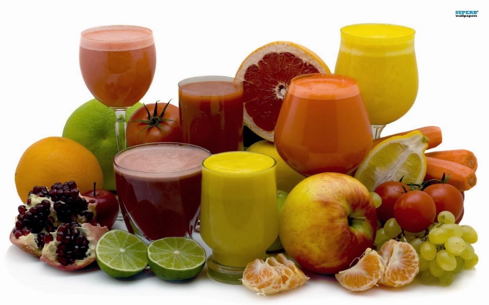 jus buah buahan