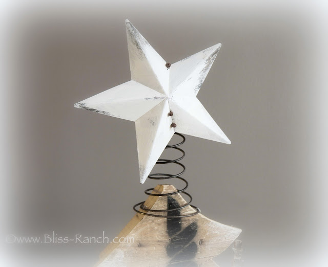 Upcycled Tin Star with Bed Springs Bliss-Ranch.com