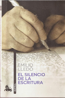 """""""el silencio de la escritura"""" - Emilio Lledó"""