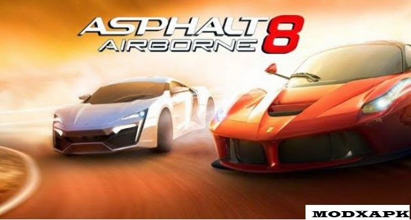 Asphalt 8 Airborne 1.5.0h Mod APK + DATA (Unlimited Money)