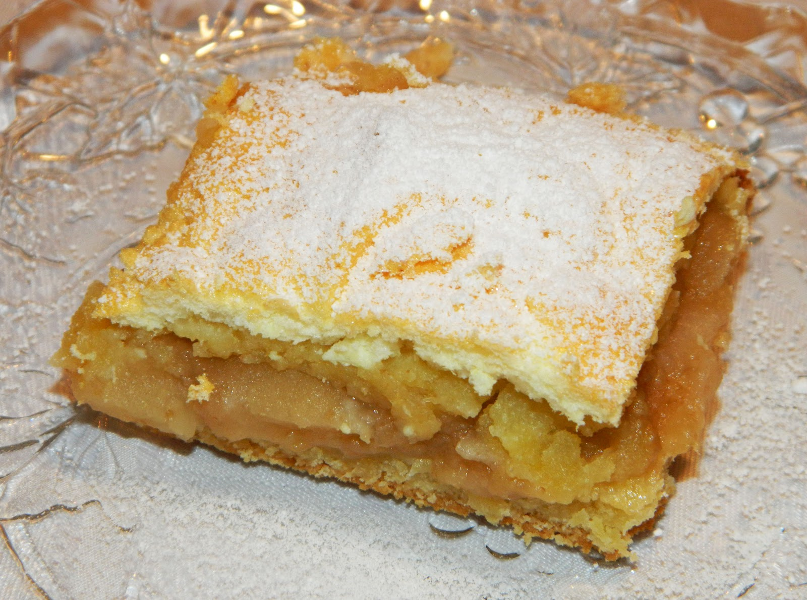 Polish Apple Cake Jablecznik