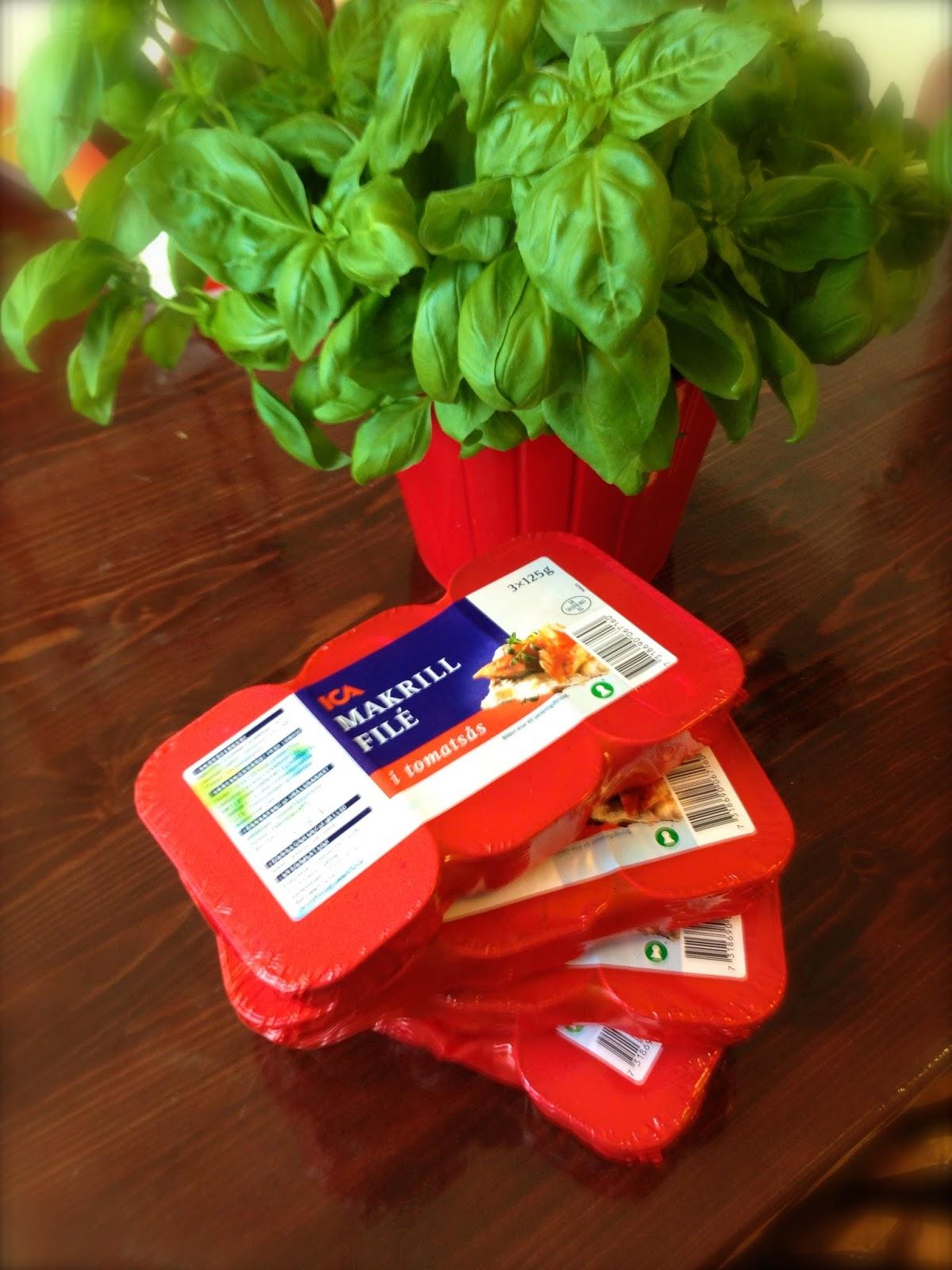 näringsinnehåll makrill i tomatsås