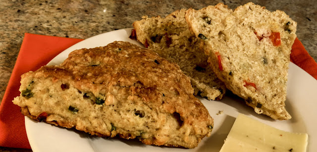 Buttermilk Scones with Cheese & Peppers