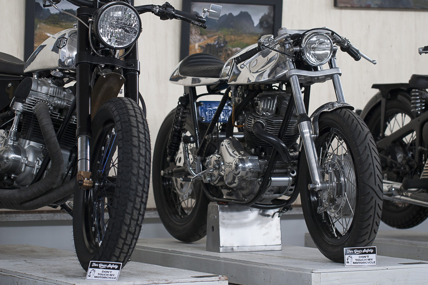 Iron and Air at the 1 Motorcycle Show
